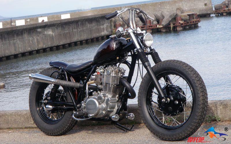 史上最全的单缸改装复古摩托车图片