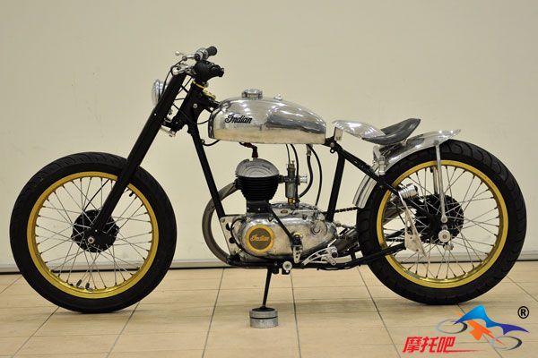 史上最全的单缸改装复古摩托车